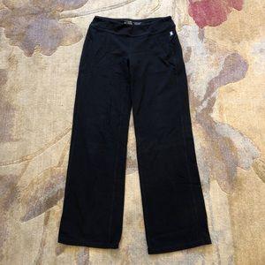 Avia Pants & Jumpsuits - Avia platinum black yoga pants medium exercise